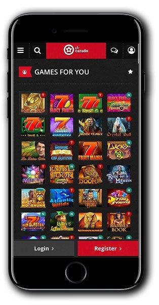 El Carado Casino mobile