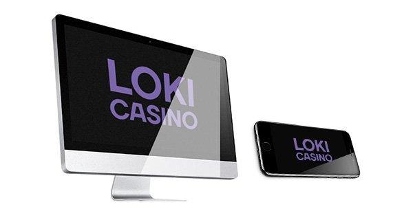 Logotipo del Loki Casino