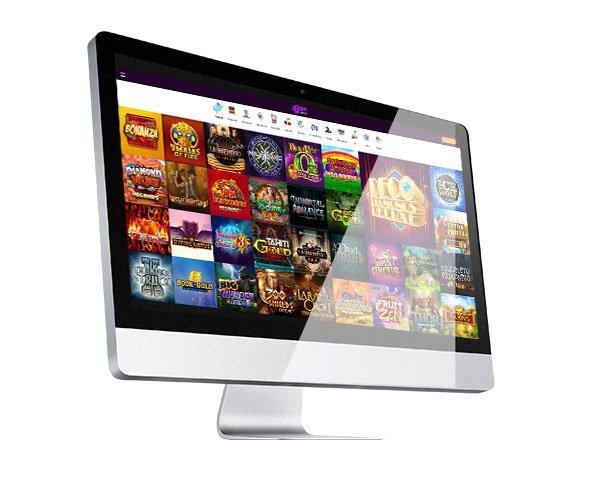 Boo Casino Desktop Lobby