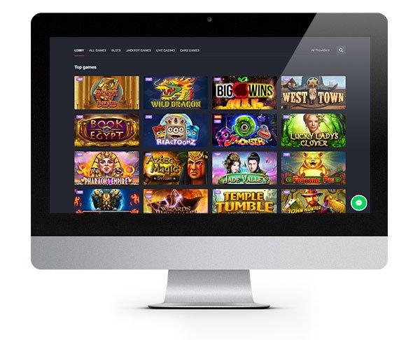 Joo Casino Desktop Homepage