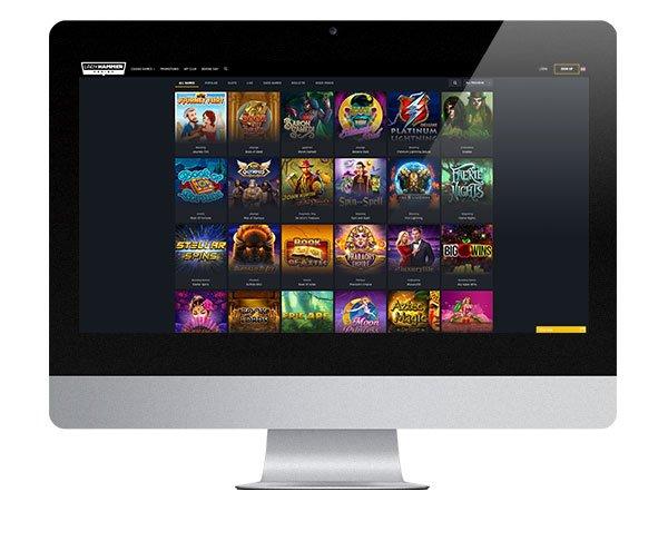 LadyHammer Casino Desktop Lobby