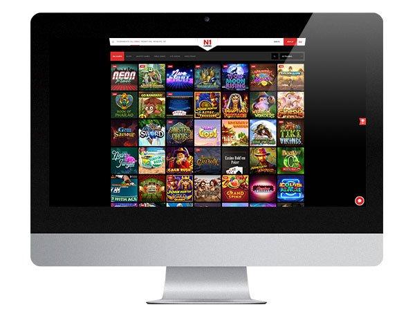 N1 Casino Desktop Casino