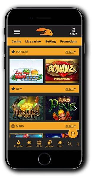 Snabbis Mobile Casino