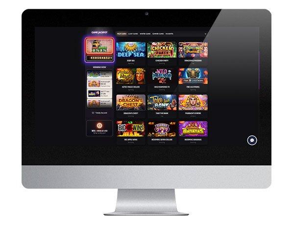 7Bit Casino Desktop lobby