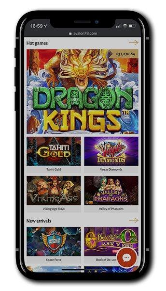 Avalon78 Mobile Casino