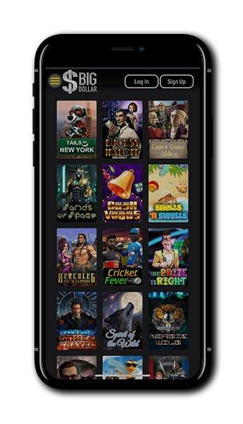 Big Dollar Casino mobile