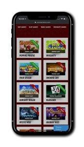 Cocoa Casino mobile