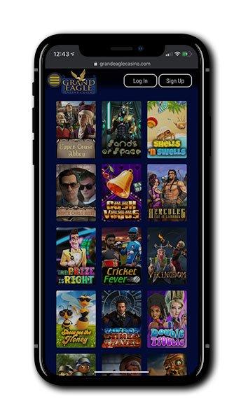 Grand Eagle Casino Mobile