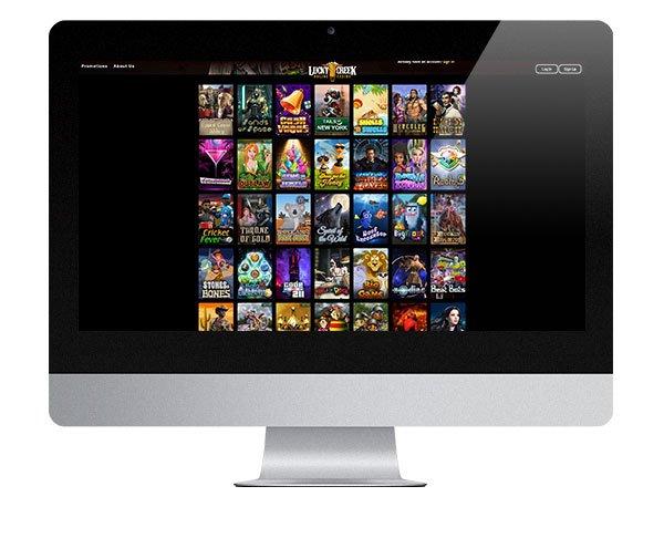 Lucky Creek Casino Desktop