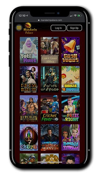 Mandarin Palace Casino Mobile Games