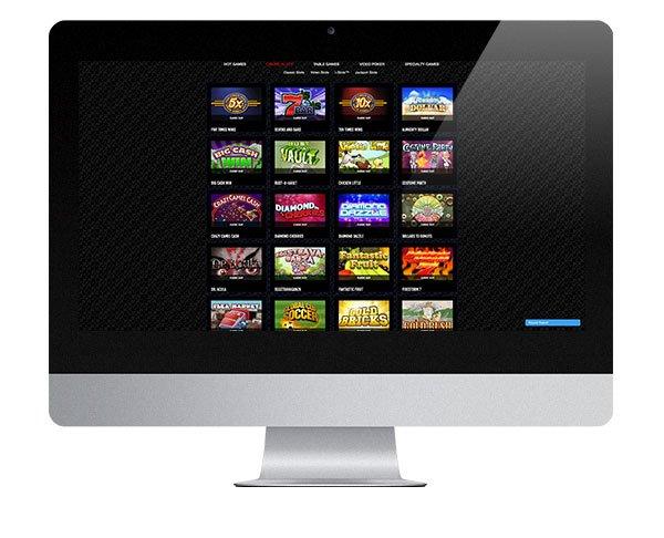 Ini adalah desktop Vegas Casino