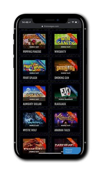 Ini adalah ponsel Vegas Casino