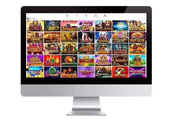 Semua layar permainan Casino Kanan