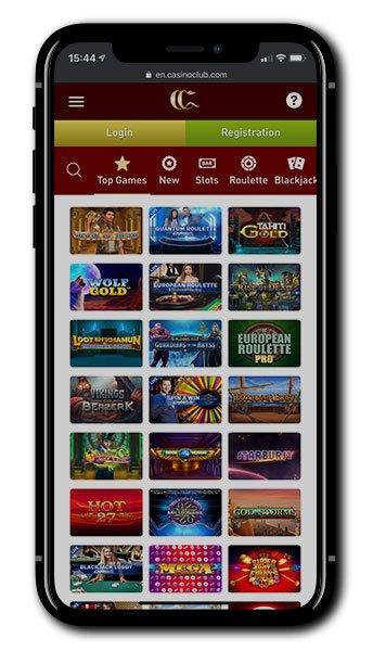 Casino Club Mobile Slots