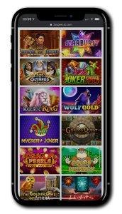 SuperCat Casino Mobile Games