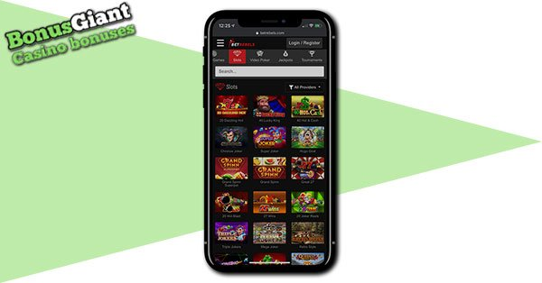 BetRebels Mobile Casino