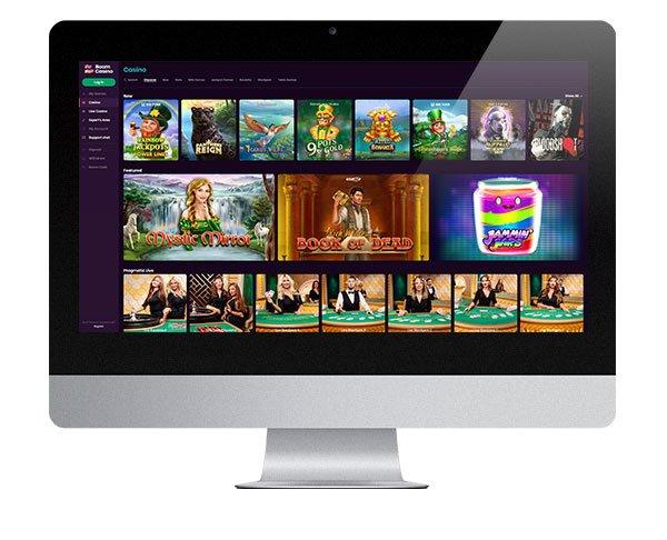 Boom Casino desktop games