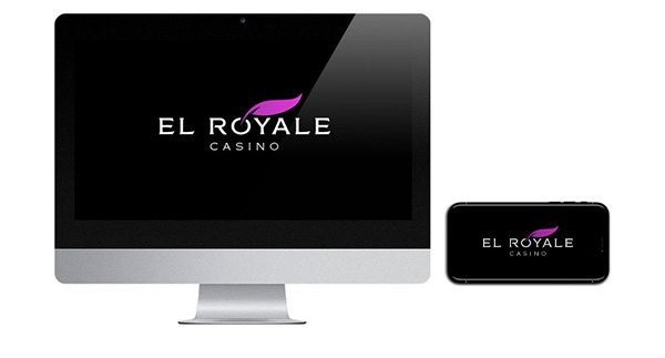 El Royale Casino logo on screen