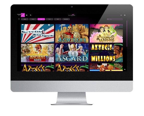 El Royale Casino desktop screenshot