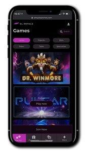 El Royale Casino mobile screenshot