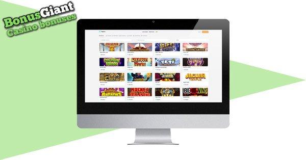 Flipperflip Casino Desktop