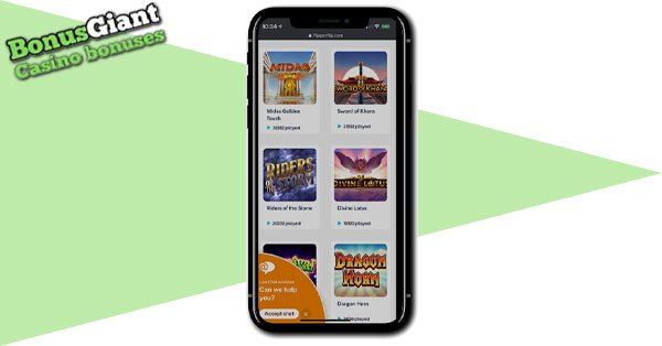 Flipperflip Casino Mobile