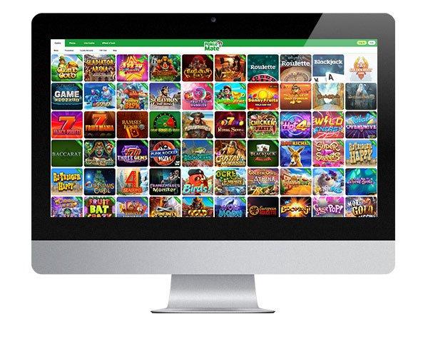 Pokie Mate Casino screenshot