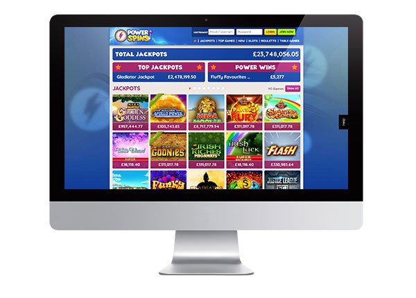 Power Spins Casino screenshot