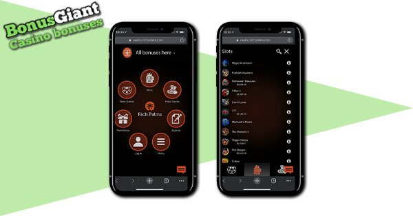 Rich Palms Casino mobile