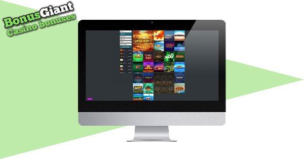 21Prive Casino on desktop