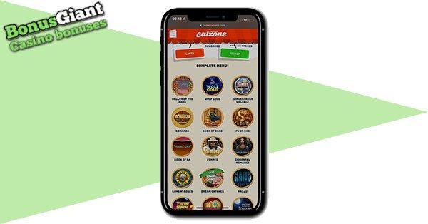 Casino Calzone on Mobile