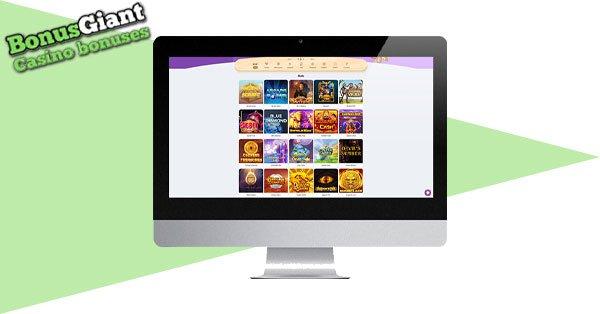Cookie Casino Desktop