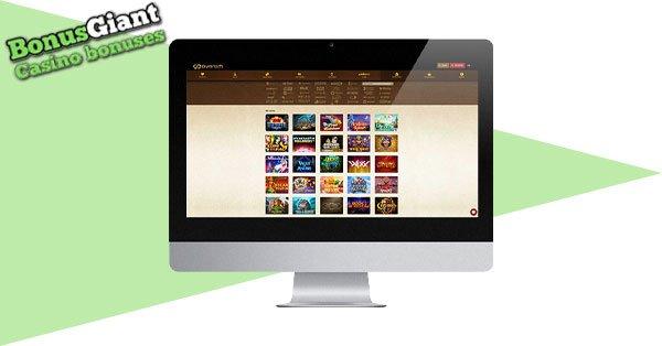 Everum Casino Desktop