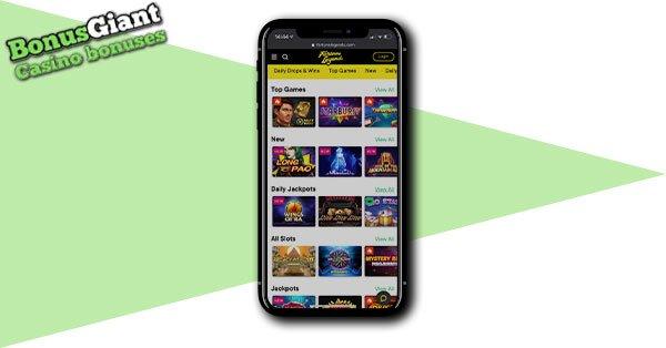 Fortune Legends Casino Mobile