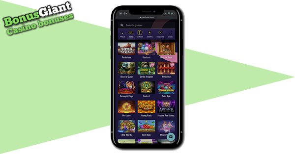 Gambola Casino Mobile