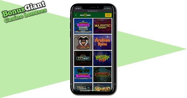 Piggy Bang Casino on mobile