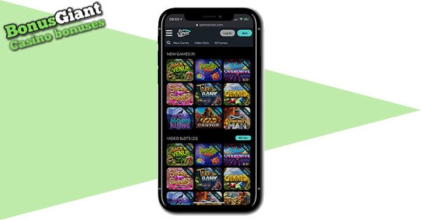 Spin Madness on Mobile
