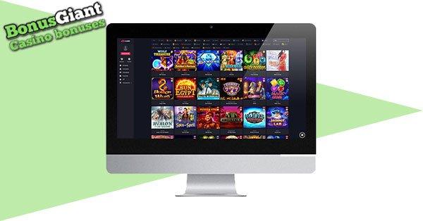 Lobi Woo Casino Desktop