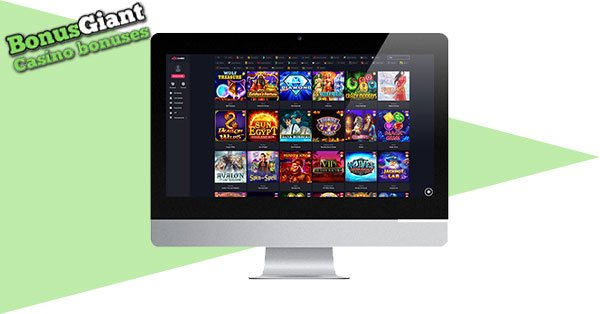 Woo Casino Desktop lobby
