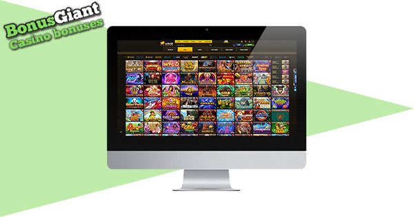 Argo Casino on desktop