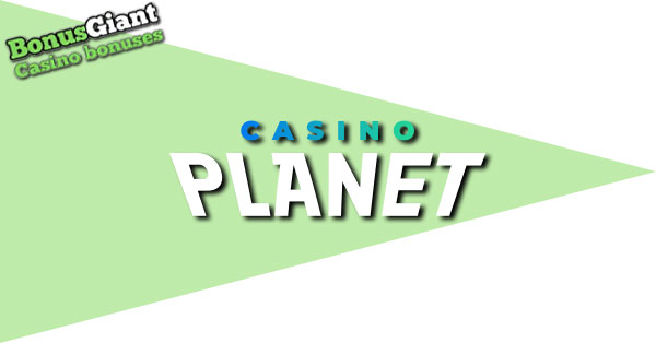 NEW Casino Planet Logo