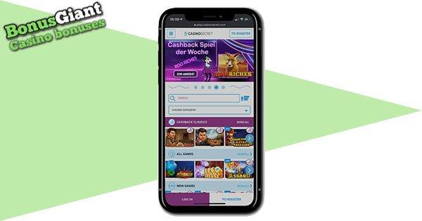Casino Secret Mobile