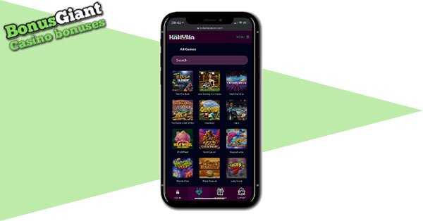 Kahuna Casino mobile gaming