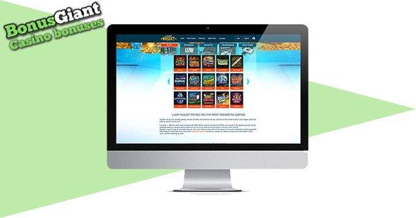 Lucky Nugget Casino desktop