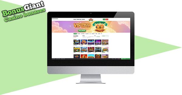 Banyak Vegas Casino di desktop
