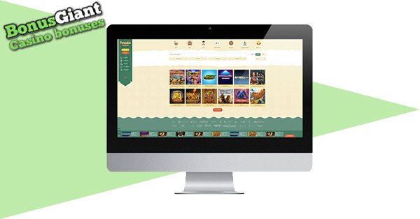 Paradise Casino Desktop