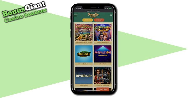 Paradise Casino Mobile