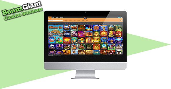 Pokiez Casino on Desktop