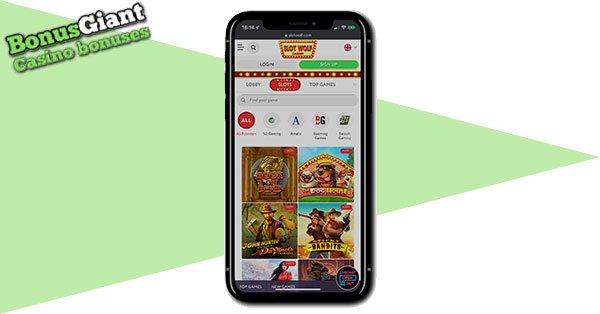 Slot Wolf Casino Mobile