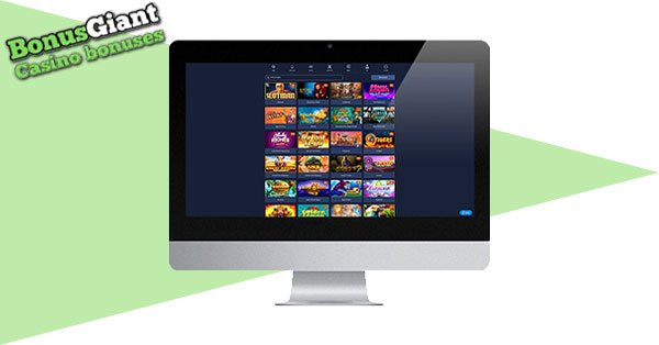 Slotman Casino desktop